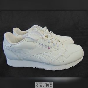 Reebok Classic Mens White Sneaker us 12 uk 11 New